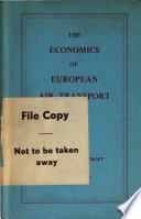 The Economics of European Air Transport