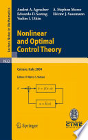 Nonlinear and Optimal Control Theory