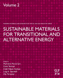 Sustainable Materials for Transitional and Alternative Energy