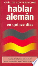Hablar alemán en quince días
