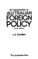 An Introduction to Australian Foreign Policy