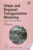 Urban and Regional Transportation Modeling
