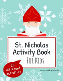 St Nicholas Activity Book For Kids 20 Different Activities