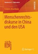 Menschenrechtsdiskurse in China und den USA - Seite 315