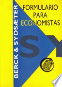 Formulario para economistas
