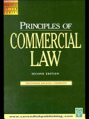 Principles of Commercial Law 2/e