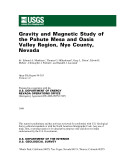 Gravity and Magnetic Study of the Pahute Mesa and Oasis Valley Region, Nye County, Nevada ebook