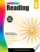 """Spectrum Reading Workbook, Grade 4"" by Spectrum"