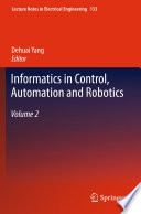 Informatics In Control Automation And Robotics Book PDF