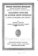 Teaching English in Junior High Schools