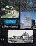 Architecture in Austria in the 20th   21st Centuries