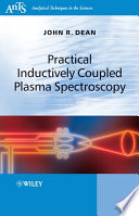 Practical Inductively Coupled Plasma Spectroscopy Book PDF