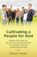 Cultivating a People for God Pdf/ePub eBook