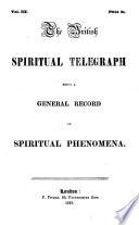 The British Spiritual Telegraph