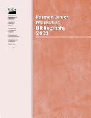 farmer direct marketing bibliography