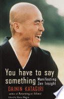 You Have To Say Something Book PDF