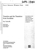 Transfers and the Transition from Socialism