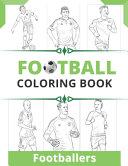 Football Footballers Coloring Book