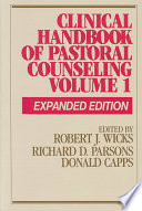Clinical Handbook of Pastoral Counseling Book