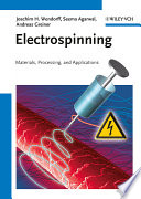 Electrospinning Book
