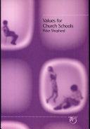 Values for Church Schools
