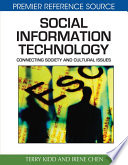 Social Information Technology Connecting Society And Cultural Issues Book PDF