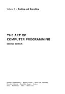 The Art of Computer Programming: Sorting and searching