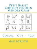 Petit Basset Griffon Vendeen Memory Game