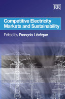 Competitive Electricity Markets and Sustainability Pdf/ePub eBook