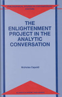 Pdf The Enlightenment Project in the Analytic Conversation