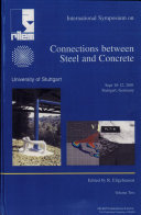 PRO 21  International RILEM Symposium on Connections Between Steel and Concrete  Volume 2