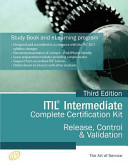 ITIL Release, Control and Validation (RCV) Full Certification Online Learning and Study Book Course