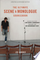 The Ultimate Scene   Monologue Sourcebook Book