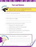 Read   Succeed Comprehension Level 6  Fact and Opinion Passages and Questions