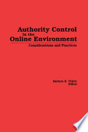 Authority Control in the Online Environment