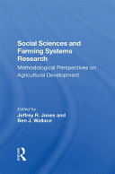 Social Sciences And Farming Systems Research