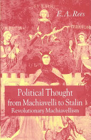 Pdf Political Thought from Machiavelli to Stalin