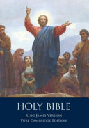 The Holy Bible Authorized King James Version Pure Cambridge Edition
