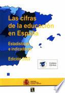 Las cifras de la educación en España
