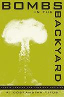 Bombs in the Backyard