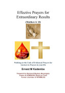 Effective Prayers for Extraordinary Results