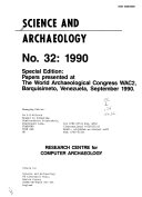 Science and Archaeology