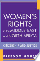 Women S Rights In The Middle East And North Africa