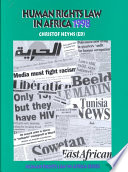 Human Rights Law In Africa 1998