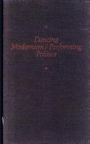 Pdf Dancing Modernism / Performing Politics Telecharger