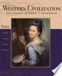 Western Civilization Ideas Politics And Society Book