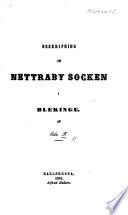 Beskrifning om Nettraby Socken i Bleckinge  Af Edv ard   F agerlund