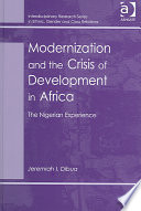 Modernization And The Crisis Of Development In Africa