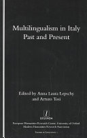 Multilingualism in Italy  Past and Present