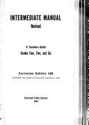 Intermediate Manual